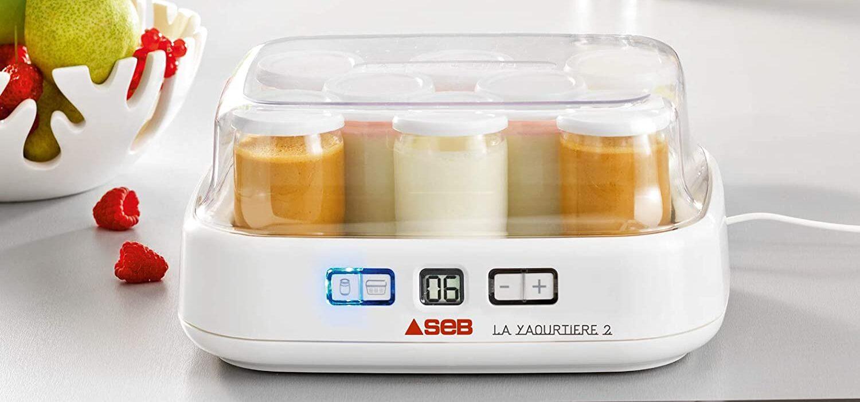 Yaourtière fromagère SEB Duetto 8 pots 2 en 1